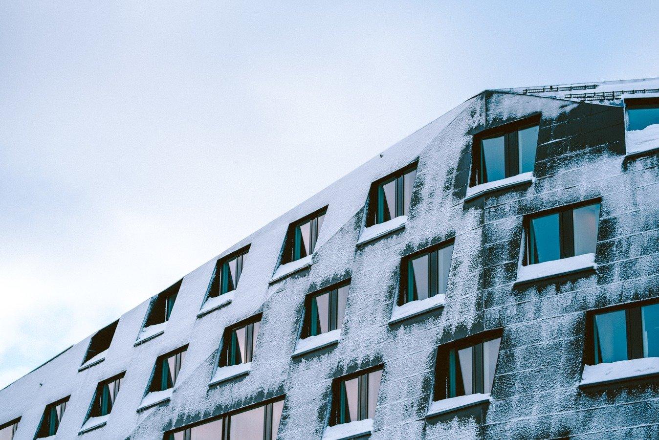 Tromso in winter