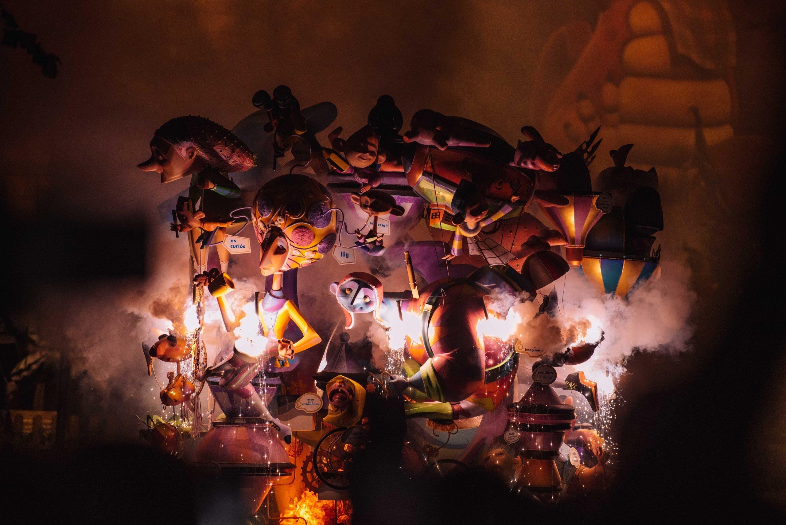 Las Fallas Festival in Valencia
