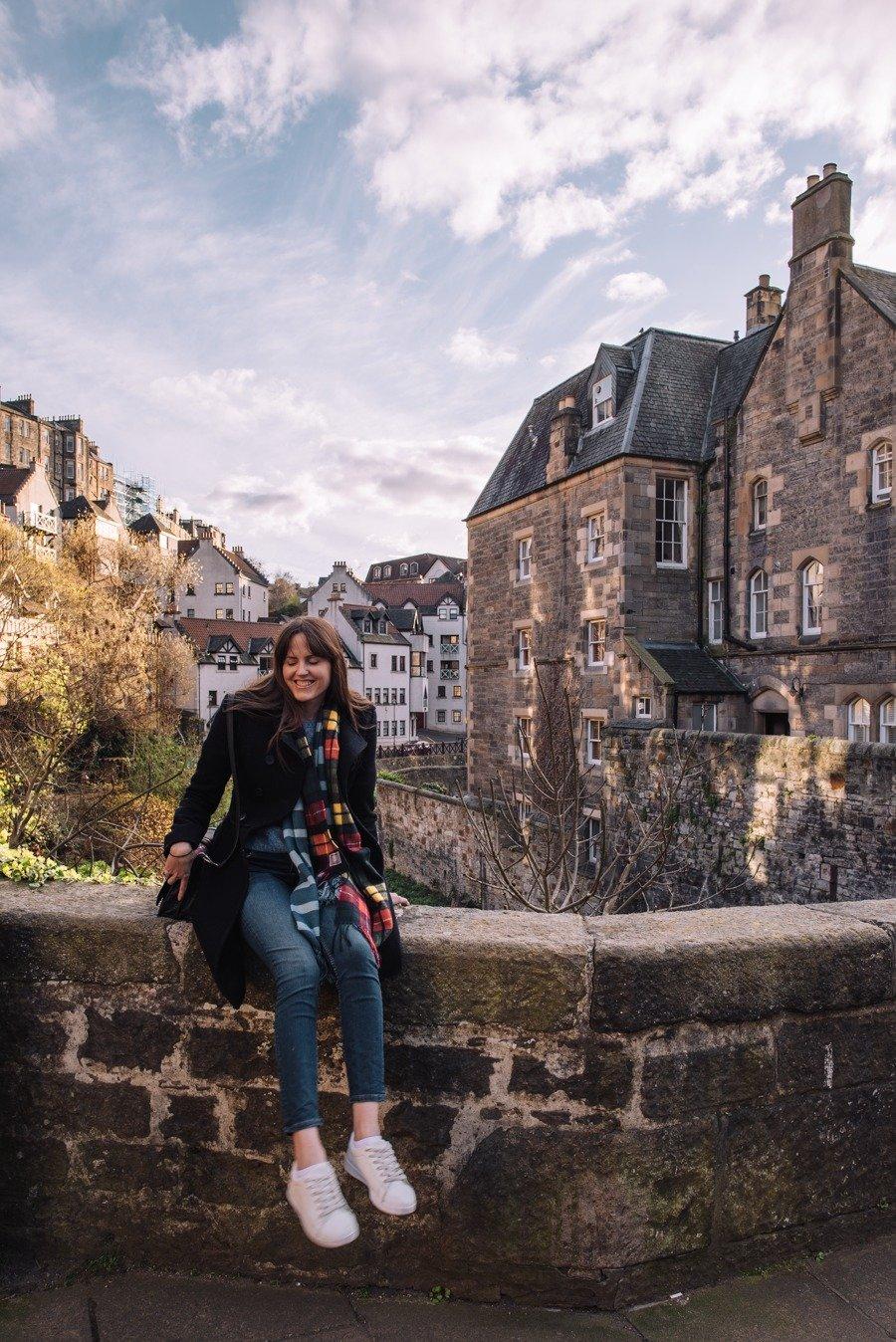 Dead Village in Edinburgh