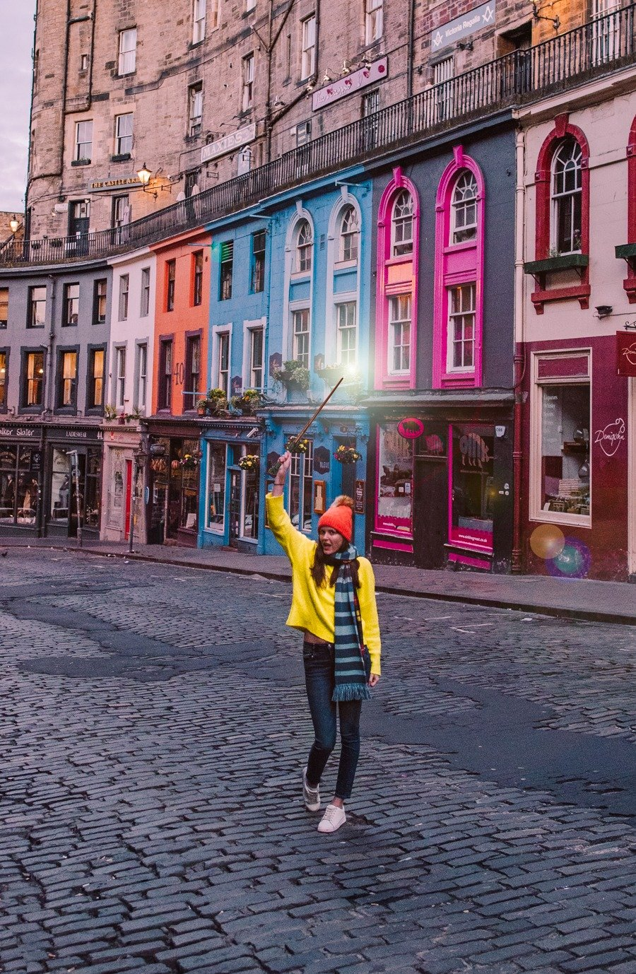Victoria Street in Edinburgh is known as the inspiration for Diagon Alley in Harry Potter