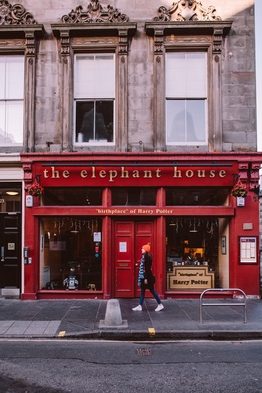The Elephant House is the cafe in Edinburgh where JK Rowling wrote Harry Potter