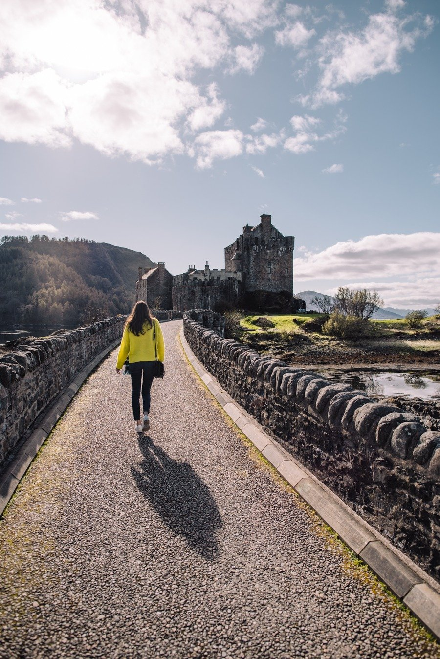 Eileen Donan on a short scottish road trip