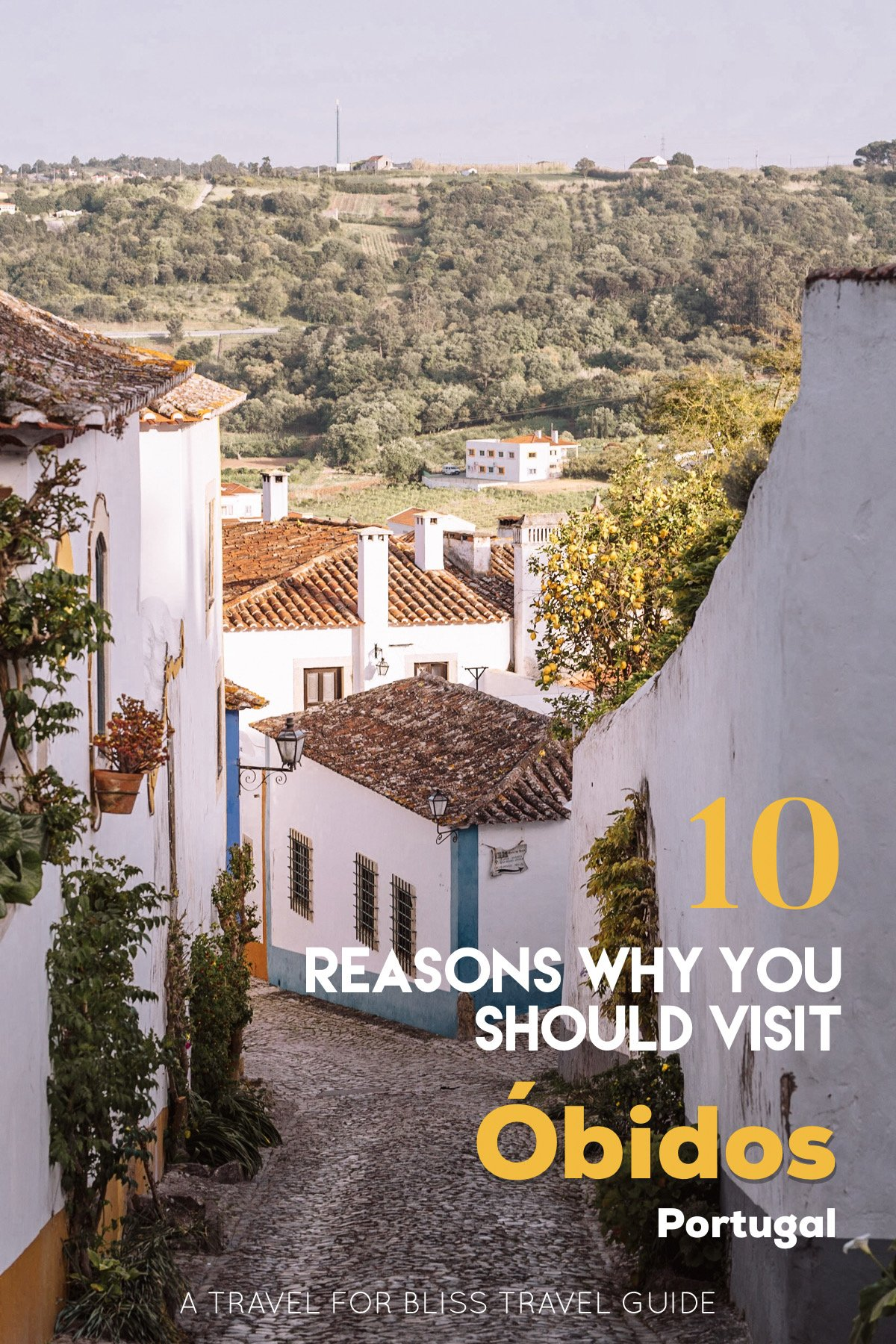 10 Reasons Why You Should Visit Obidos Portugal