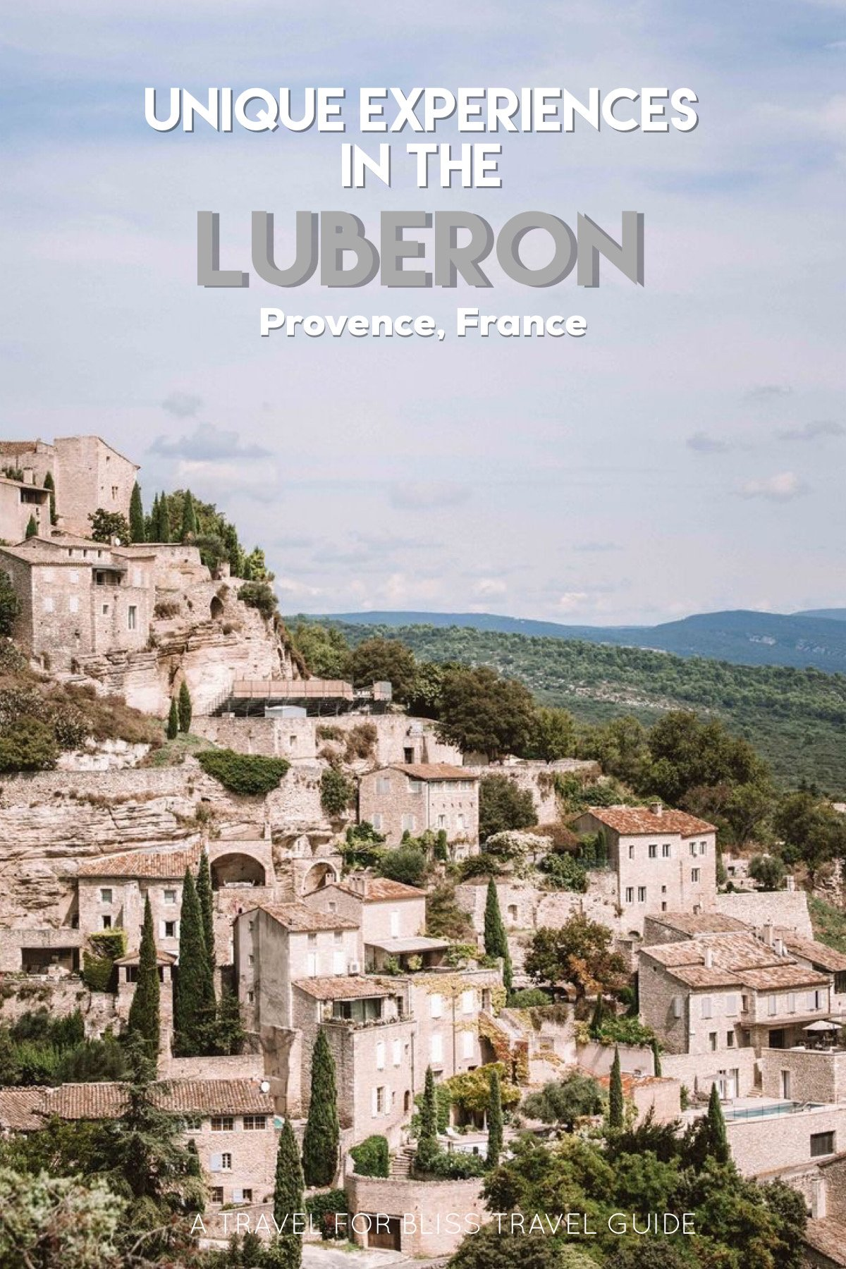 What To Do In The Luberon in Provence France