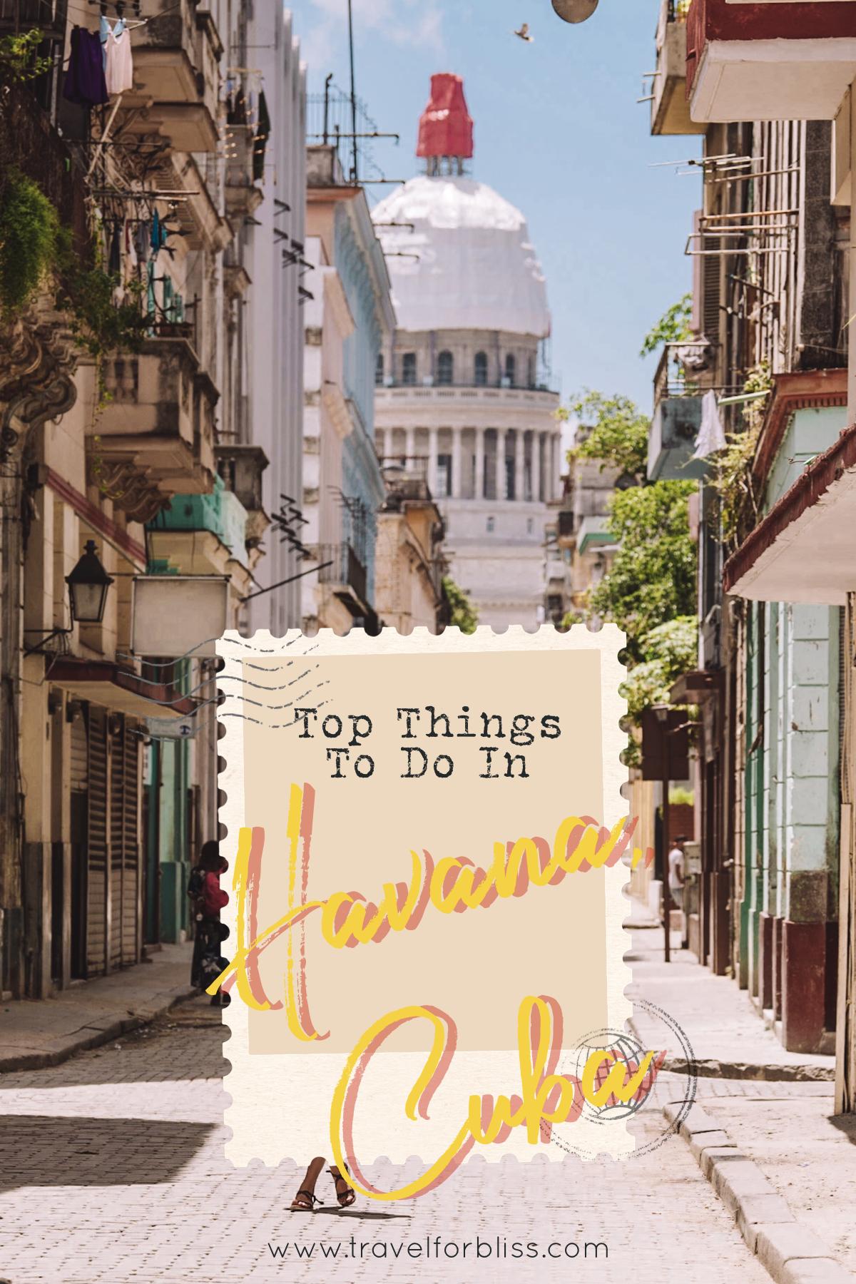 Top Things To Do In Havana Cuba