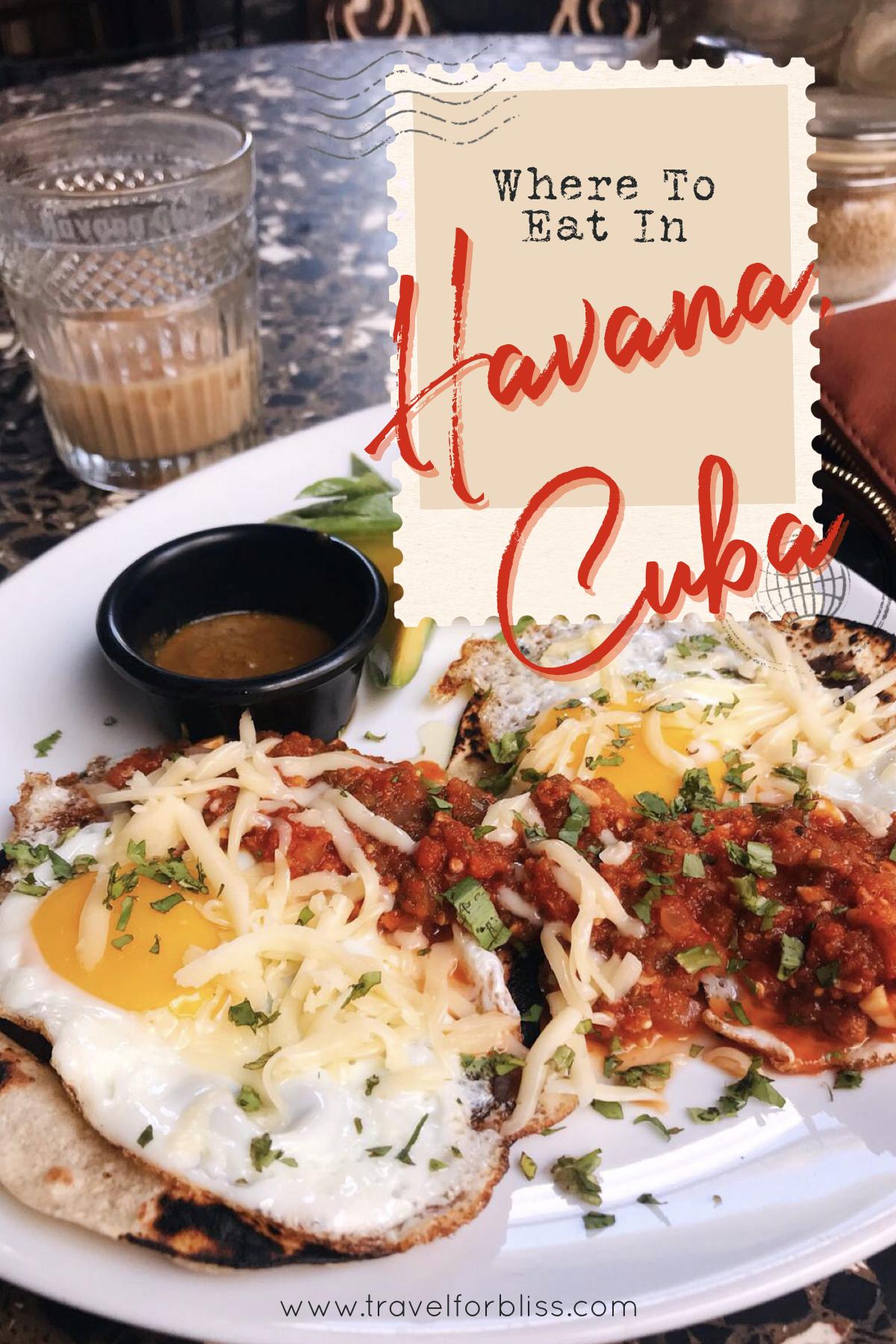 Where To Eat In Havana Cuba