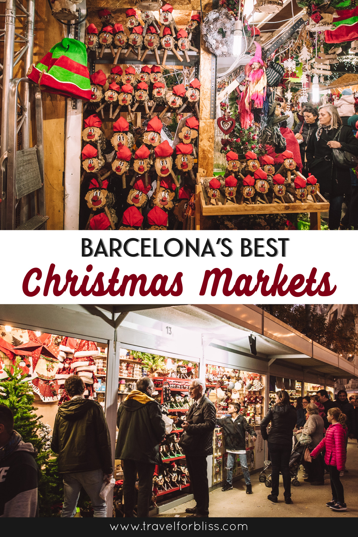 Barcelona's best christmas markets. Travel guide on when and where the christmas markets are in Barcelona