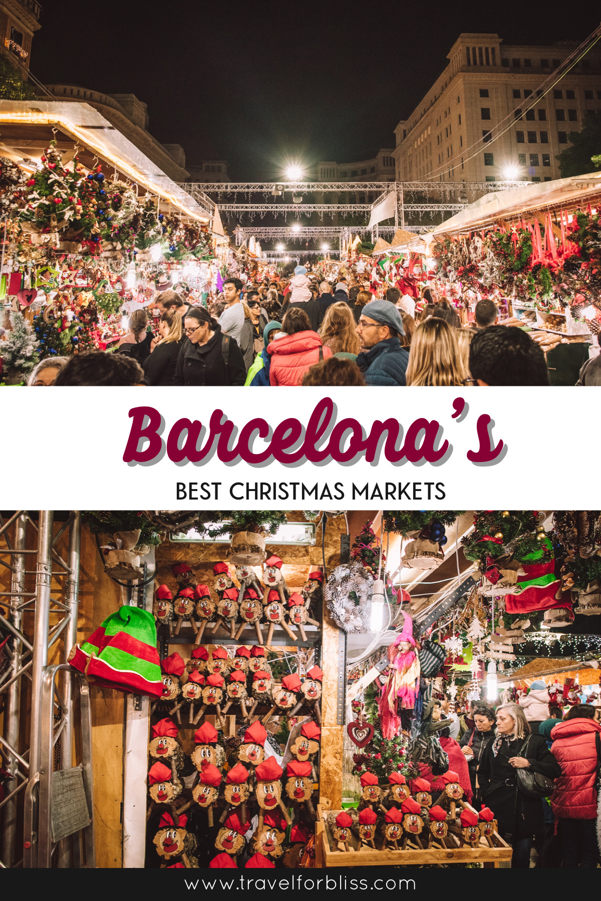 Travel Guide on Barcelona's best Christmas Markets. Find out where to enjoy the christmas markets in Barcelona