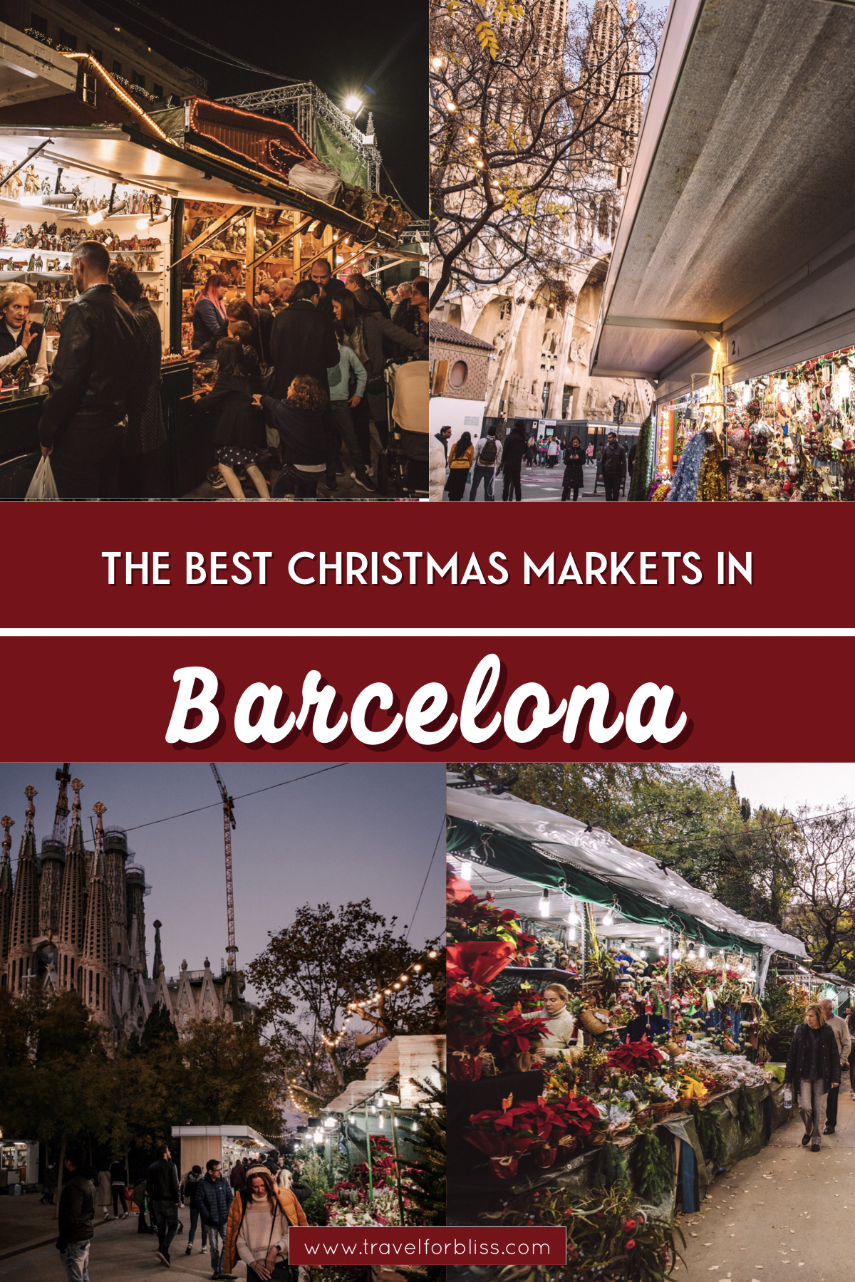Discover the best christmas markets in Barcelona