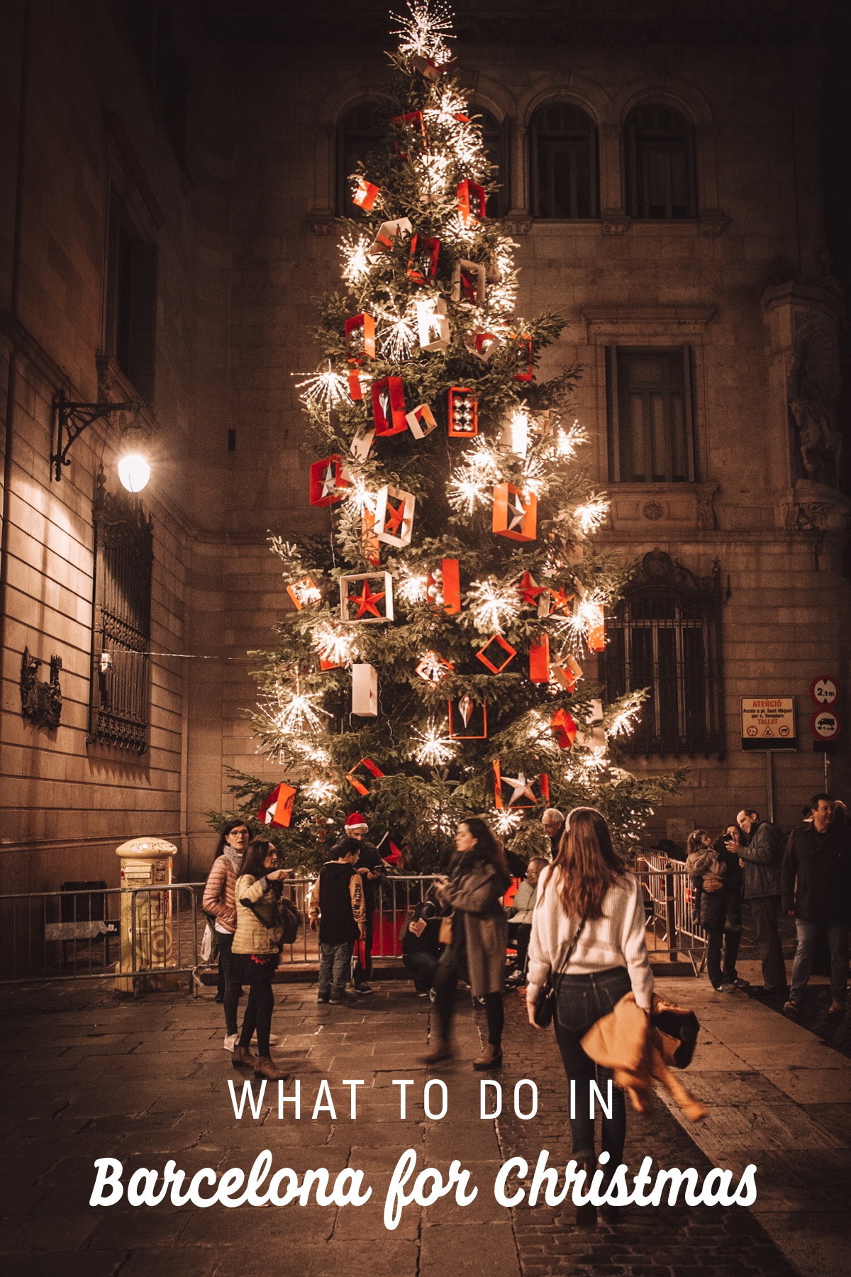 Travel Guide for the best things to do in Barcelona for Christmas. Discover unique experiences and some of the best christmas markets in Europe.
