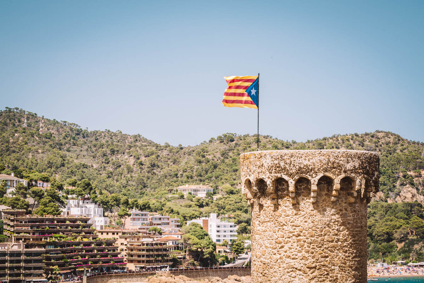 Tossa de Mar is a great weekend trip from Barcelona