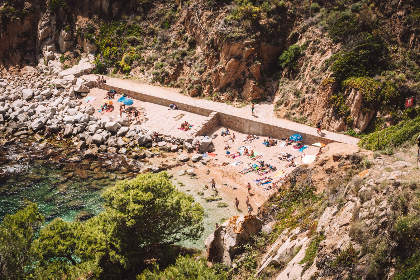 beaches at Tossa de Mar. Travel For Bliss