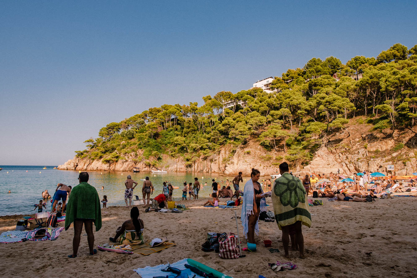 Aigua Blava is one of the best beaches on the Costa Brava in Spain