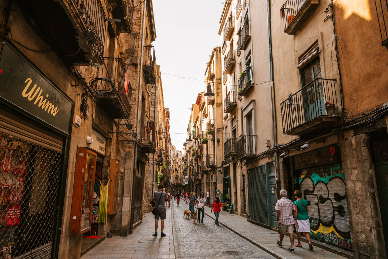 Girona is a great place to have a weekend trip from Barcelona