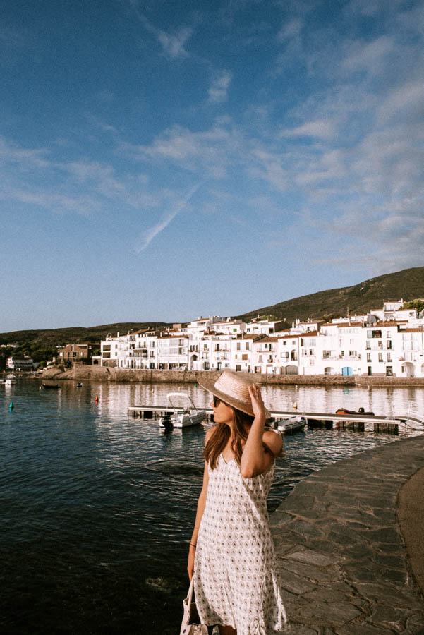 Cadaques is a beautiful beach side town in the north of Spain
