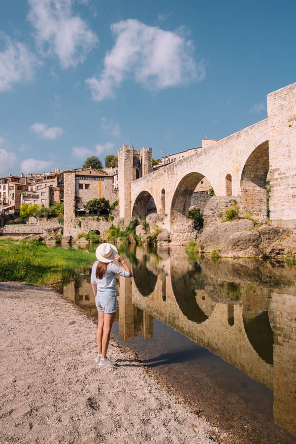 Besalu is a great place for a weekend trip from Barcelona.