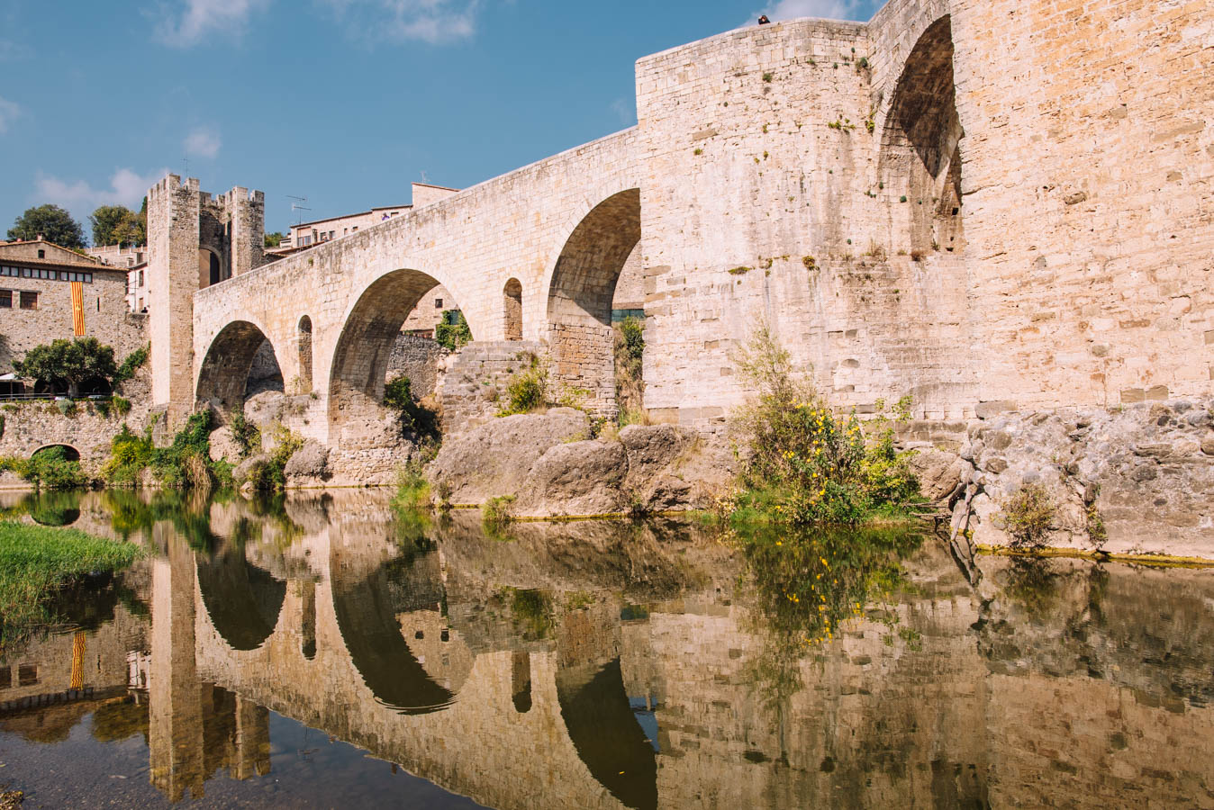 Besalu is perfect for a road trip from Barcelona