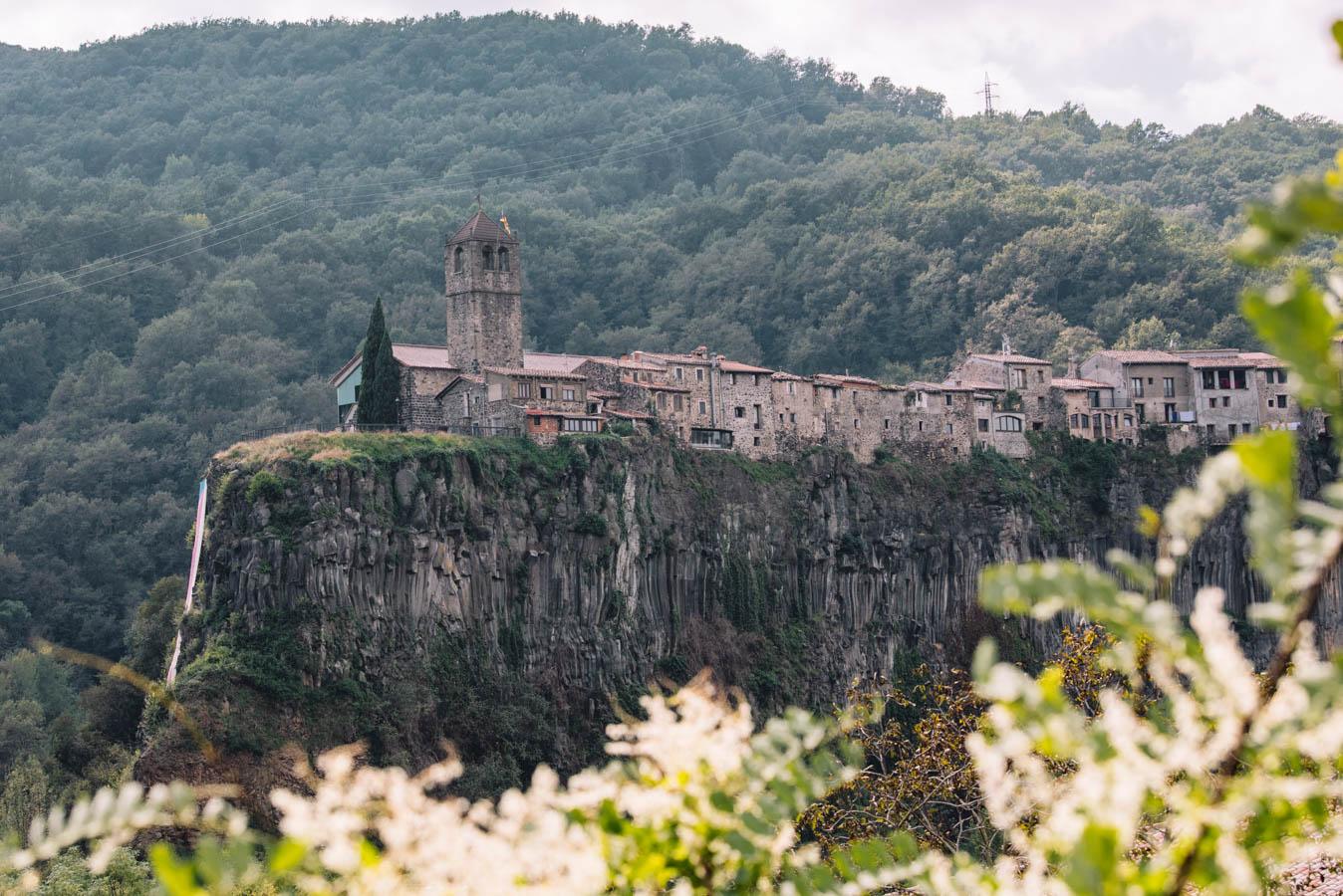 Medieval towns near Barcelona.