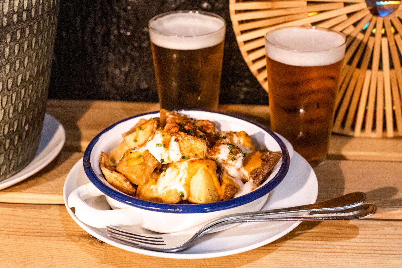 Patatas Bravas is a delicious dish eaten by the locals in Barcelona