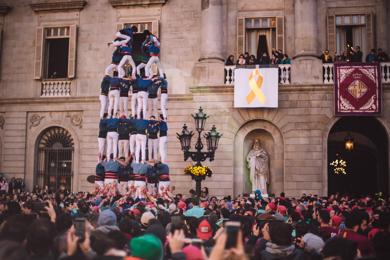 Castells in Barcelona are a great local experience