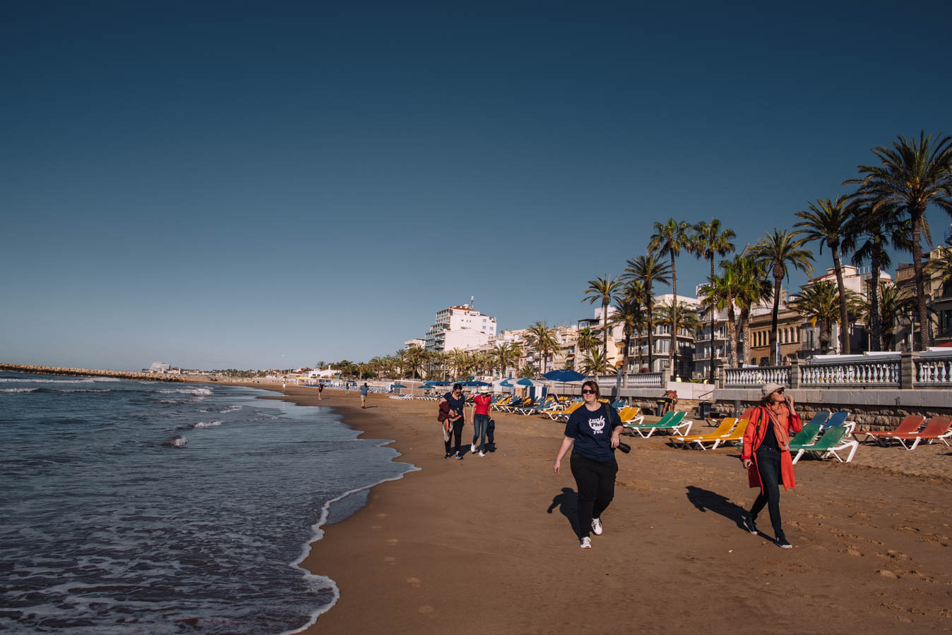 Sitges has some of the best beaches in Europe
