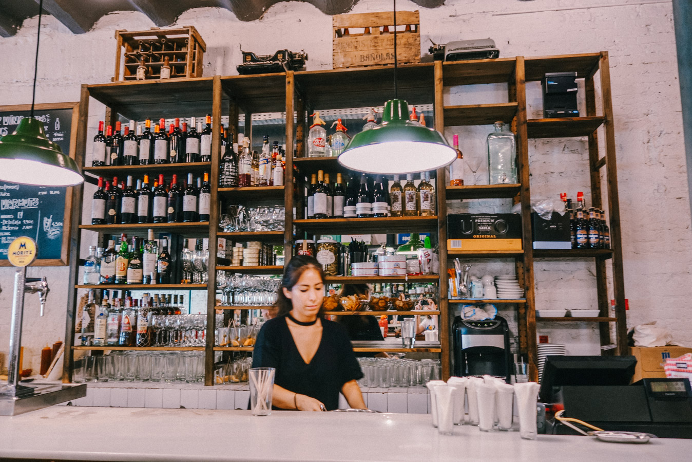 Find a vermouth bar and have a drink with the locals of Barcelona