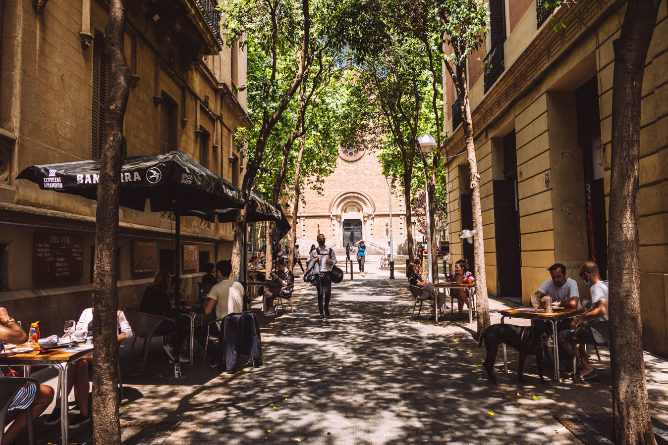 Barcelona has a relaxed local atmosphere