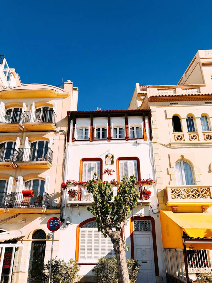 Sitges is a beautiful beach town close to Barcelona
