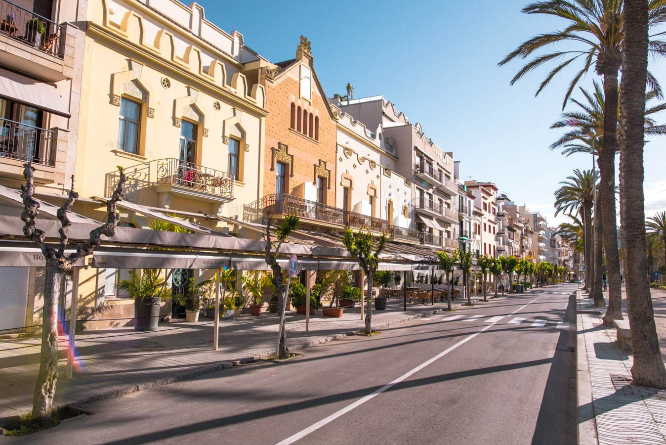 Sitges is great for a weekend trip from Barcelona