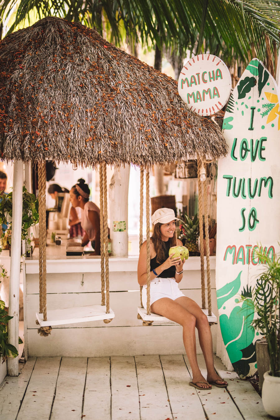 Matach Mana is one of the best foodie experiences in Tulum. Add it to your list for healthy and vegan cafes in Tulum