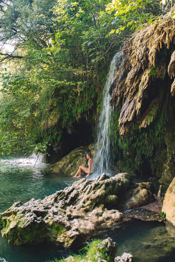 Gorge Moli dels Morris is a beautiful place to cool down in summer