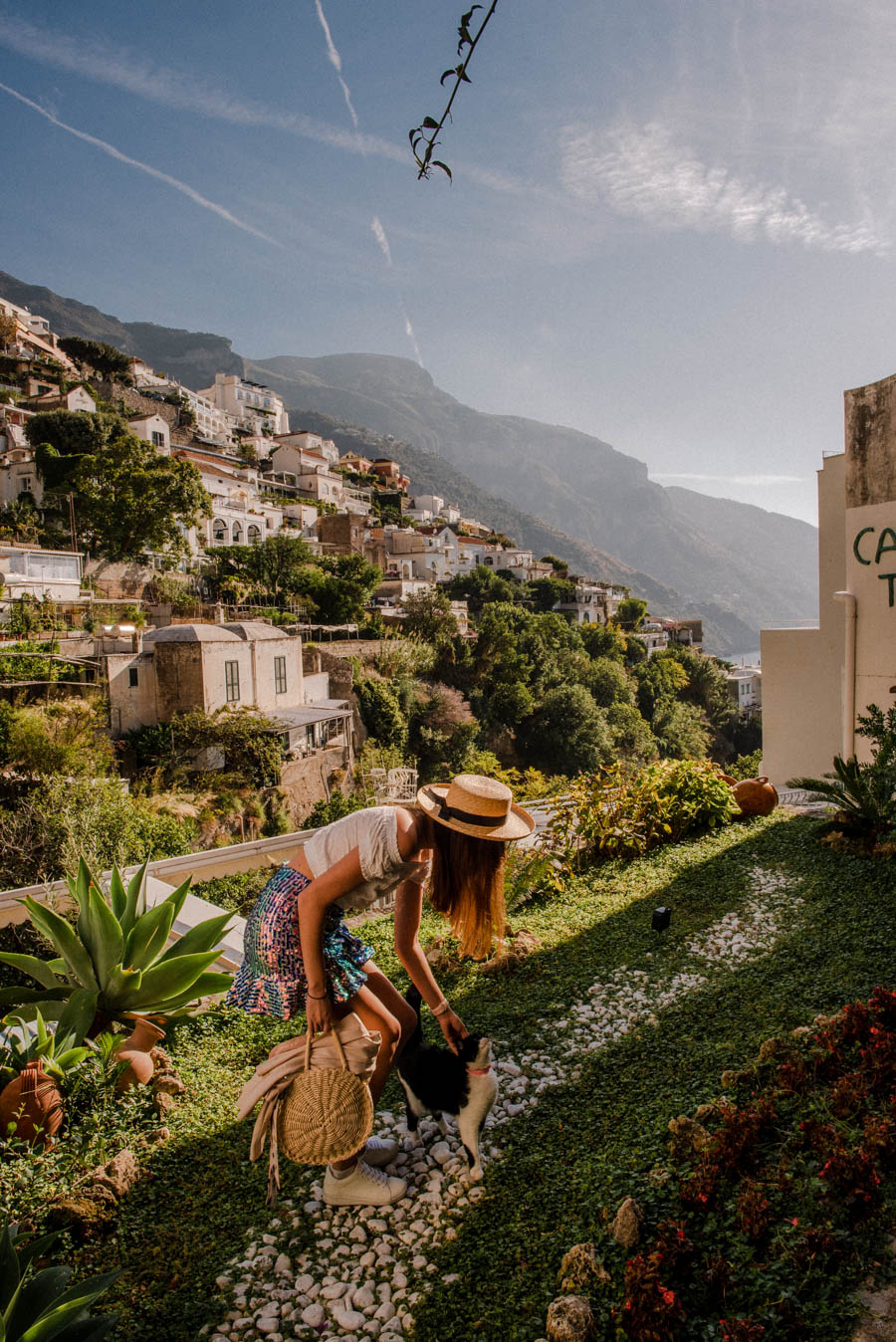 Positano has many amazing photo locations. Don't forget to take photos at your hotel in Positano. One of my most popular Instagram photos in Positano was taken at our hotel