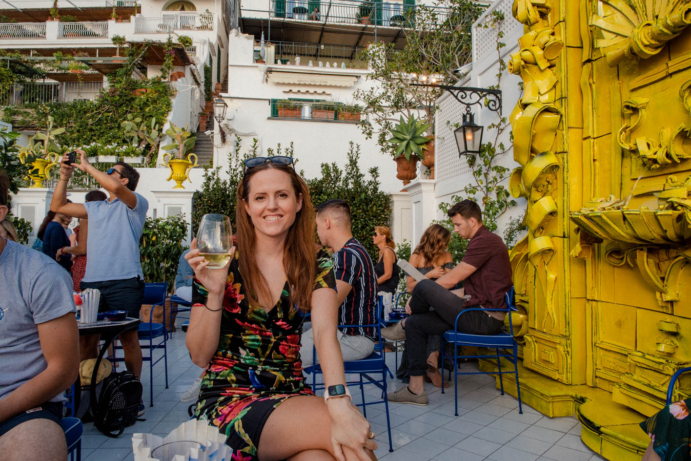 Franco's Bar is one of the best places in Positano to take photos.