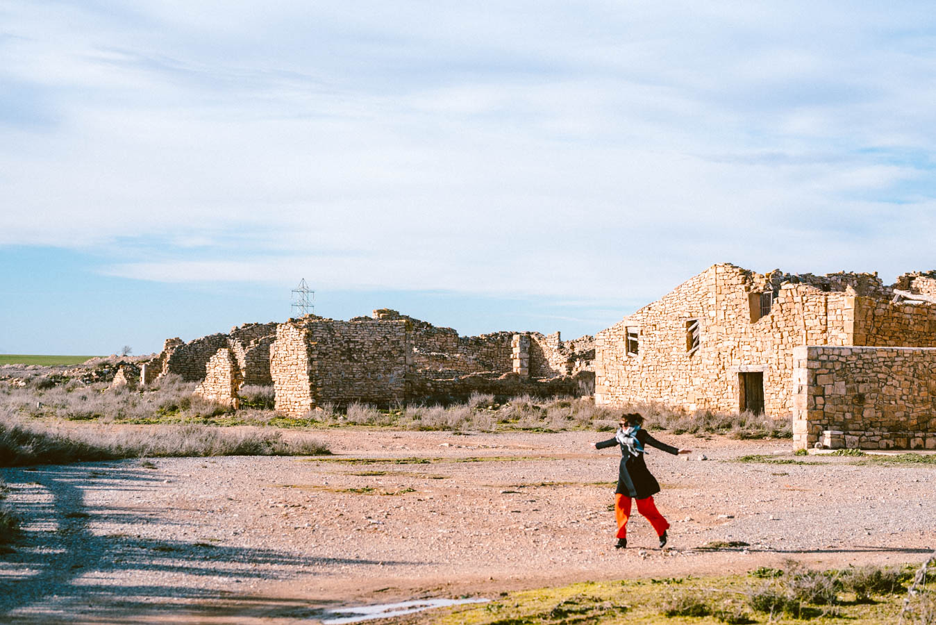 Cardial is a plague ghost town in the Spanish desert