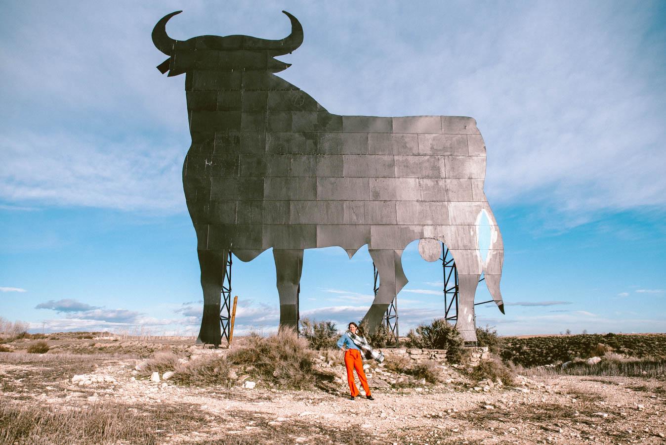 The Osborne Bulls in Spain