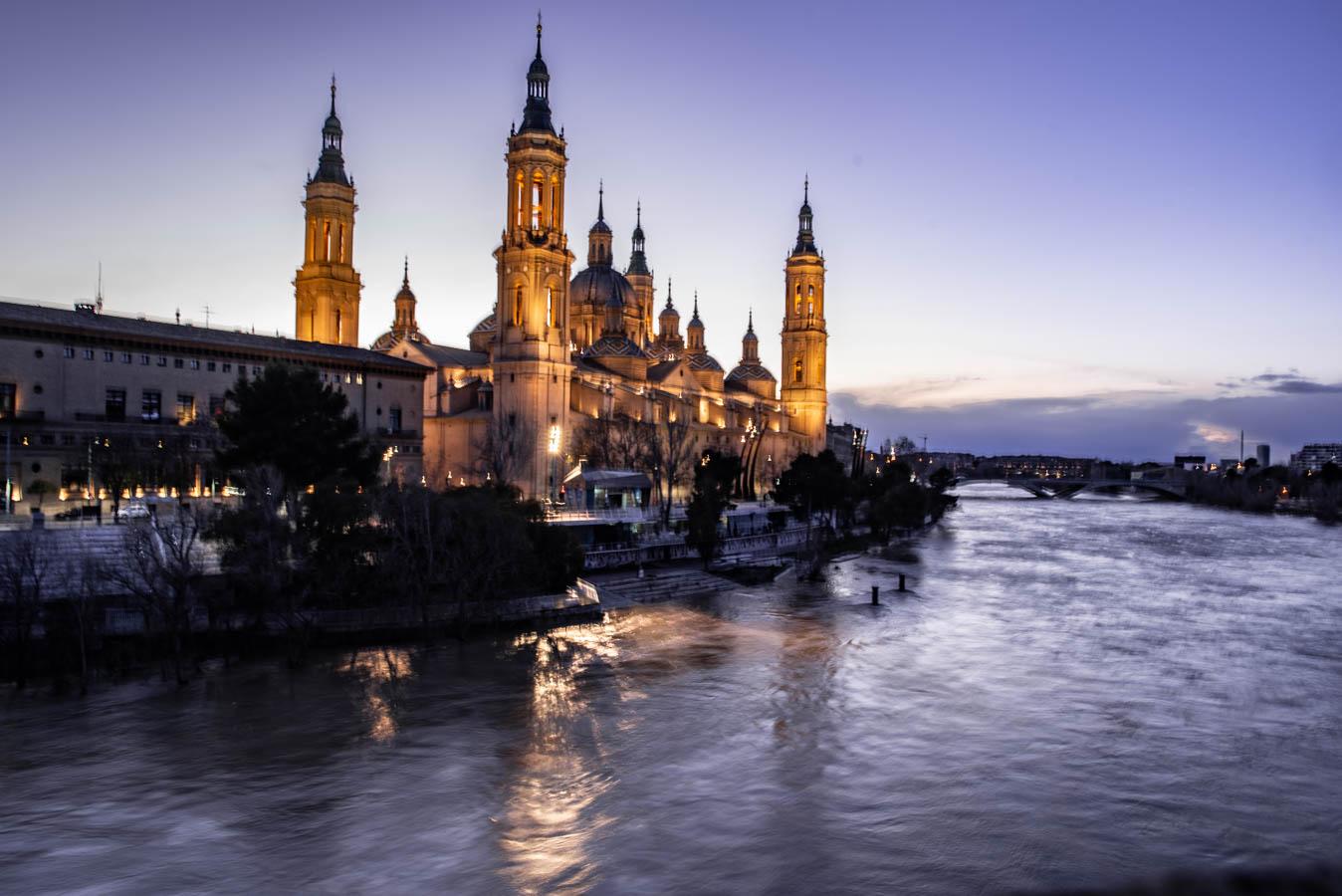 The Basilica of Zaragoza is a top attraction in Zaragoza
