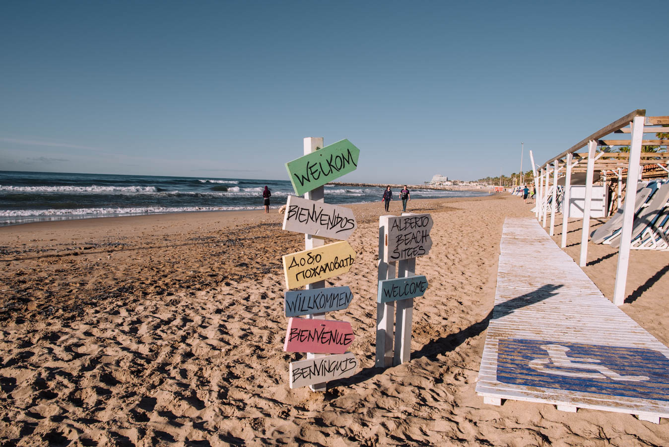 Sitges is a great start to any road trip. Stop for brunch or lunch or spend the night.