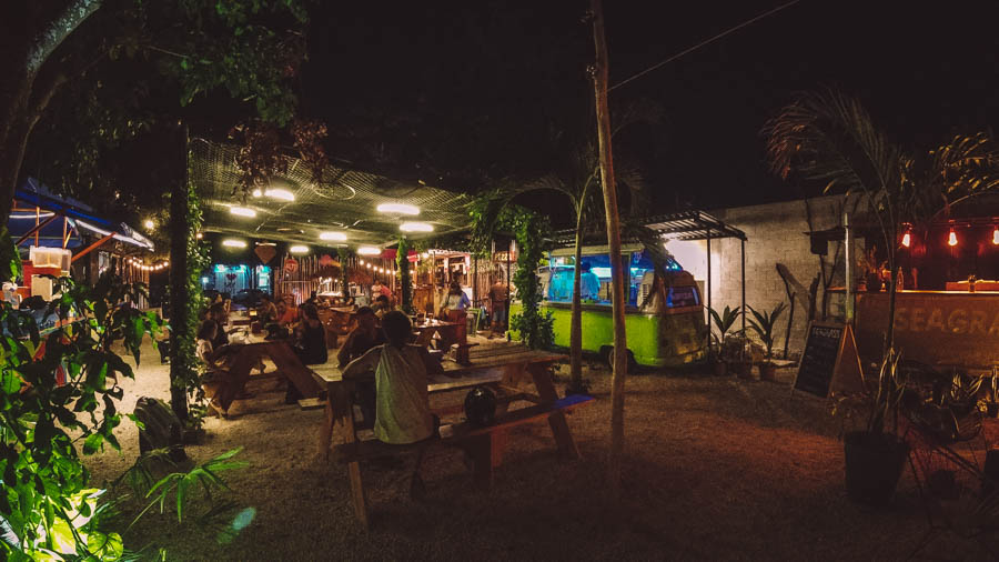 If you're after cheap eats in Tulum then head to Palma Central, an amazing food truck park in Tulum Town.