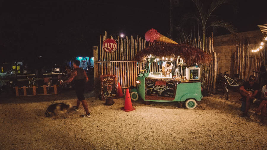 Palma Central is one of the best places in Tulum for a foodie experience