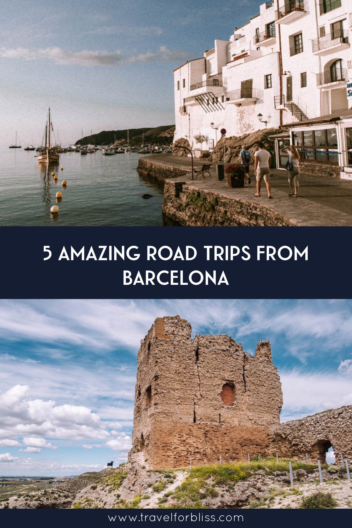 Find the perfect road trip from Barcelona. You can choose what type of experience you will have. All road trips will show you a local side of Barcelona. Discover beautiful beaches, delicious food, and historic towns on your Spanish road trip.