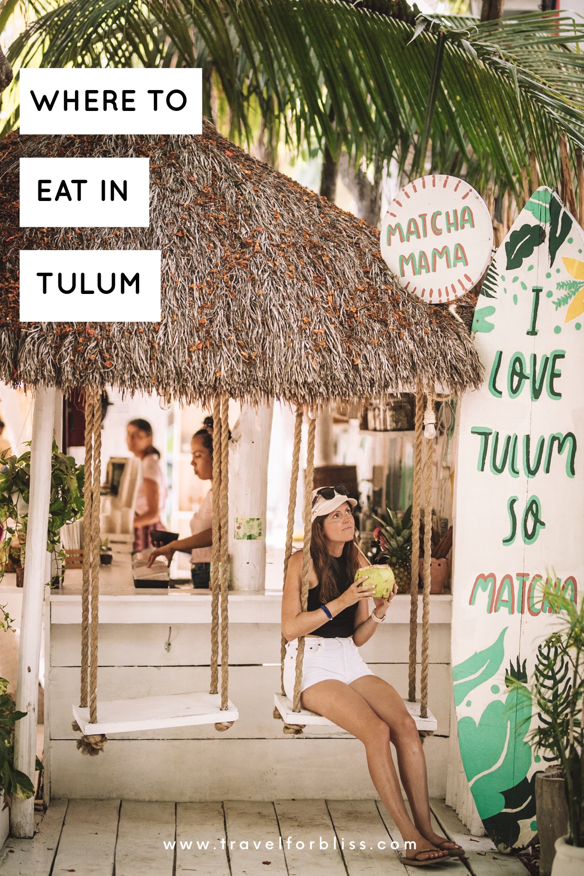 Travel guide for where to eat in Tulum.