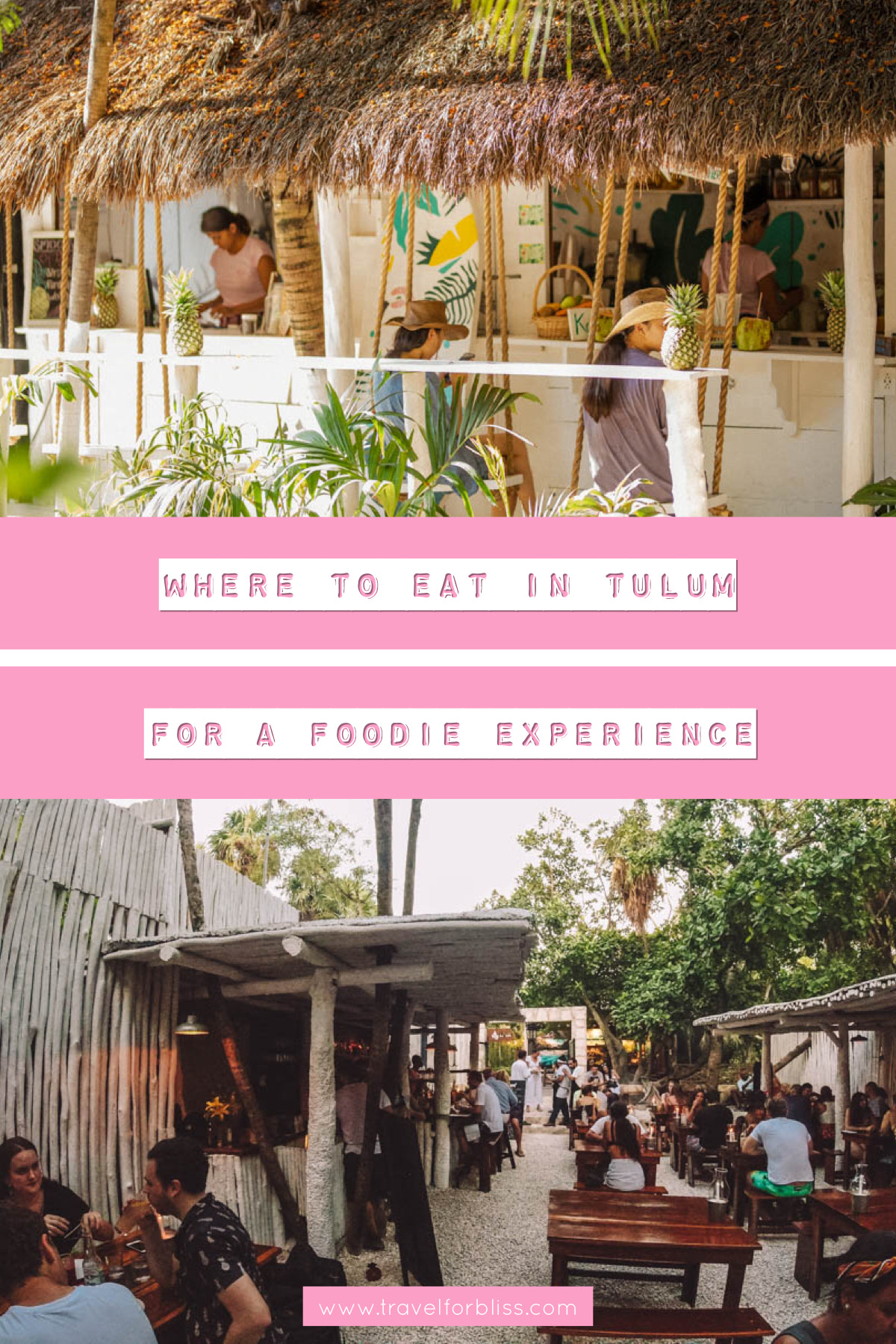 Discover where to eat in Tulum for a foodie experience. This is a travel guide on the best restaurants in Tulum Mexico