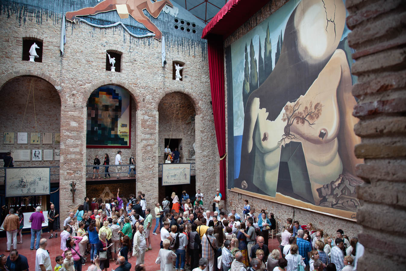 Visit the Salvador Dali Theatre Museum in Figueres