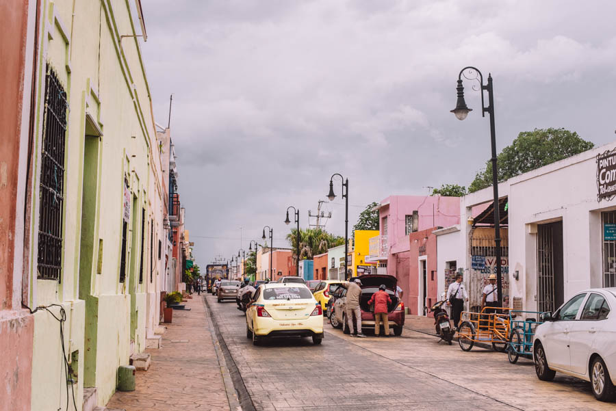 Valladolid is one of the best towns to visit on the Yucatan peninsular. Valladolid is very local and is a town with colourful buildings in Mexico.