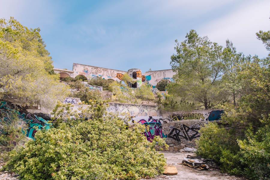 Festival Club is an abandoned super club in Ibiza.
