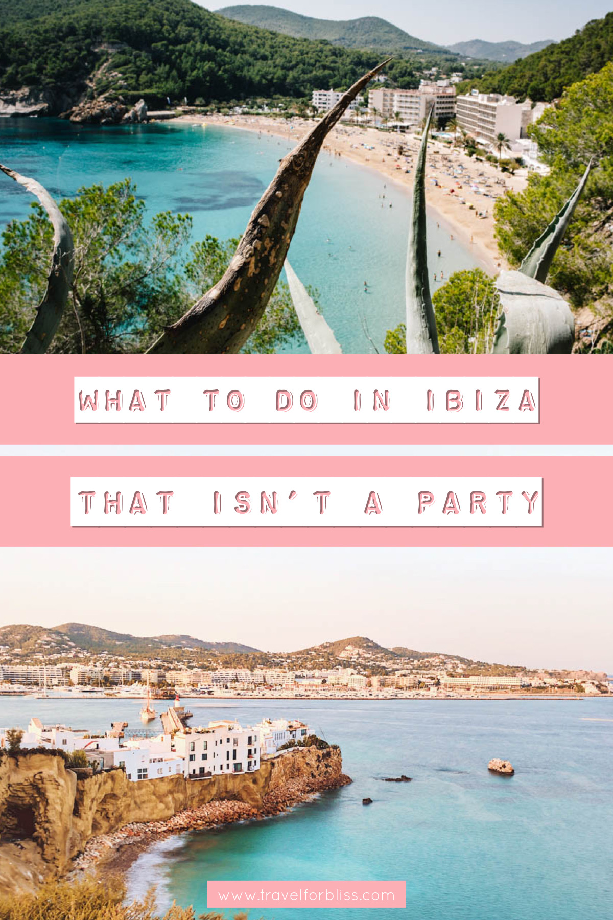 The best things in Ibiza when you don't want to party. Discover beautiful beaches and hidden gems in Ibiza