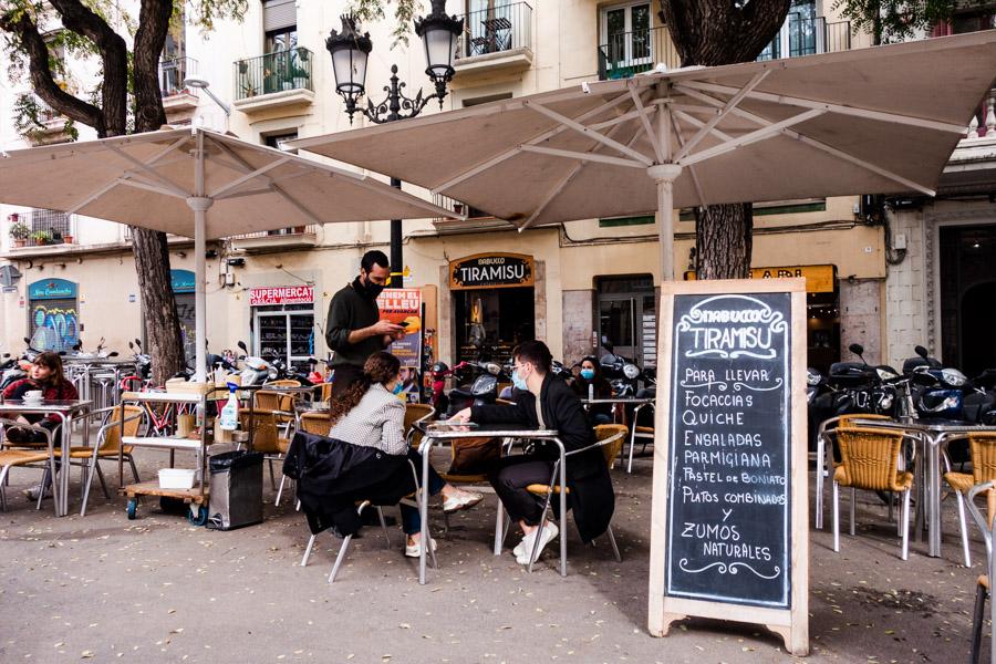 Tiramisu Nambucco Serves up delicious vegetarian food in Plaza Vila de Gracia