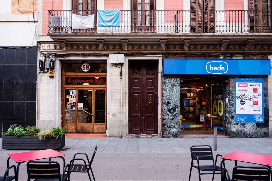 This unassuming restaurant is one of the best in Barcelona. El 58 serves up amazing tapas in a trendy restaurant.