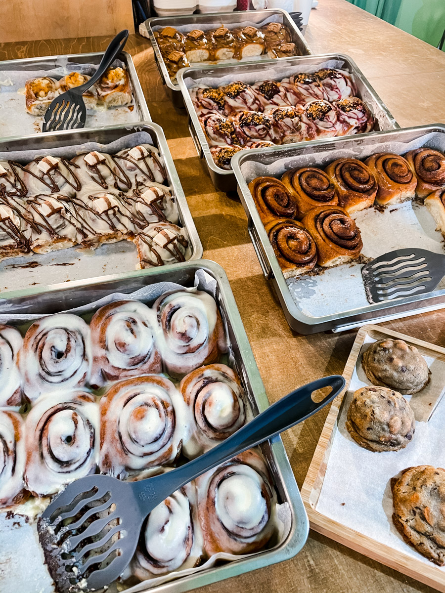 Candela Canela serves up the best coffee in Barcelona along with the best cinnamon scrolls in Barcelona