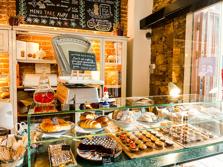 Gracia has some of the best sweet shops in Barcelona.